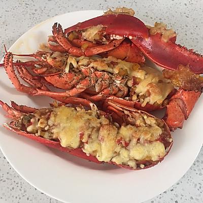蒜蓉芝士焗龙虾