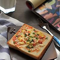 【吐司比萨】——隔夜吐司变华丽早餐的做法图解1