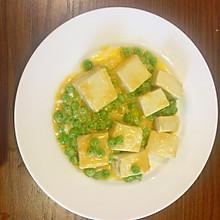 蛋黄烩豆腐