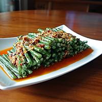夏日凉菜--姜汁蒜泥豇豆的做法图解10