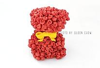 【2020浪漫情人节】玫瑰熊--原创造型馒头的做法