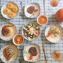 万圣节的餐桌