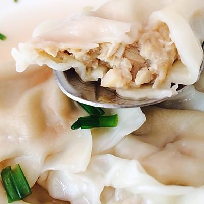 笋尖蘑菇猪肉馅儿饺子