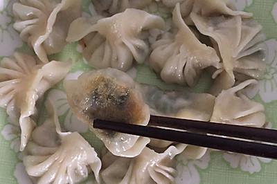 电饭锅外焦里嫩的饺子