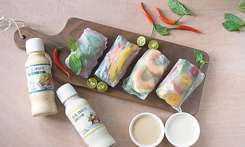 越南春卷-丘比沙拉汁的做法