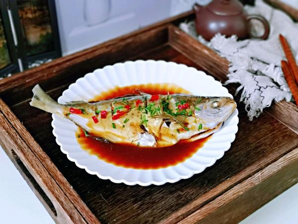 红烧雪花鲳鱼的做法