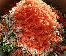 五彩缤纷的饺子馅来了,丰富又营养!的做法
