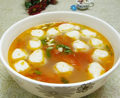 番茄鱼丸汤