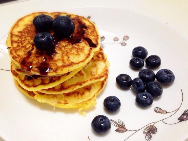 【分分钟早餐】工作日pancake的做法