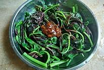 懒人菜——酱拌红苋菜的做法