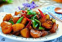 红亮鲜香的红烧土豆块的做法