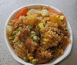 电饭锅排骨饭的做法