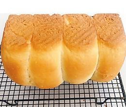 #爱好组-高筋#小谭烘焙~松软吐司面包的做法