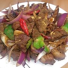 #餐桌上的春日限定#铁锅版烤串,孜然羊肉