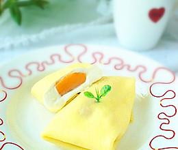 芒果班戟#甜蜜厨神#的做法