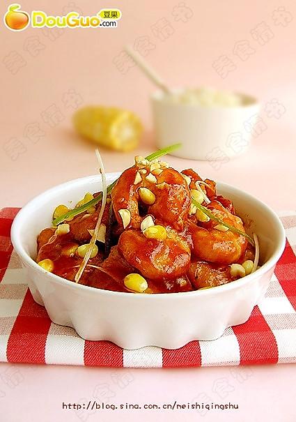 番茄炸虾的做法