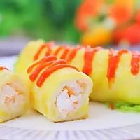鲜虾吐司卷  宝宝辅食食谱的做法图解16