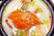 潮汕海鲜粥解馋的舔锅超简单的做法