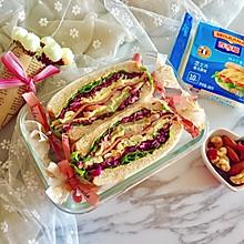 多彩野餐三明治#百吉福食尚达人#