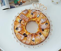 奶香十足松软香甜的蔓越莓日式炼乳面包的做法