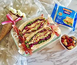 多彩野餐三明治#百吉福食尚达人#的做法