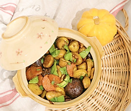 鲜香香菇炒板栗的做法