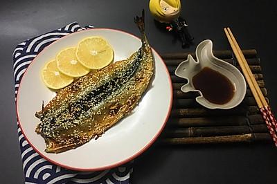 【海贼王料理】日式蒲烧香烤秋刀鱼#每一道菜都是一台时光机#