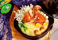 白蟹海鲜火锅#浓汤宝火锅英雄争霸赛#的做法