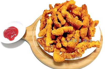 香酥猪肉薯条炸里脊-停不下来的零食