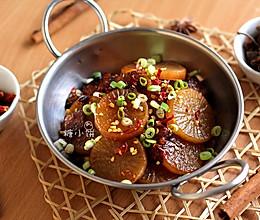 【干锅萝卜】不用干锅的干锅菜的做法