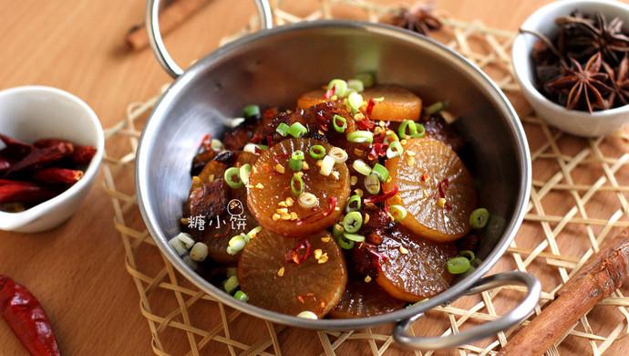 【干锅萝卜】不用干锅的干锅菜