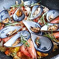 #硬核菜谱制作人#西班牙至尊海鲜烩饭的做法图解17