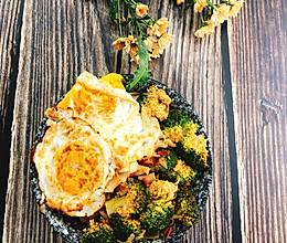 #餐桌上的春日限定#西蓝番茄荞麦面的做法