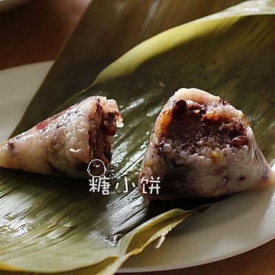 【甜香八宝粽】锥形粽包法