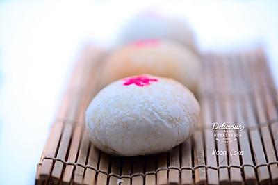 苏式榨菜鲜肉月饼#手作月饼#——黑暗料理也有春天
