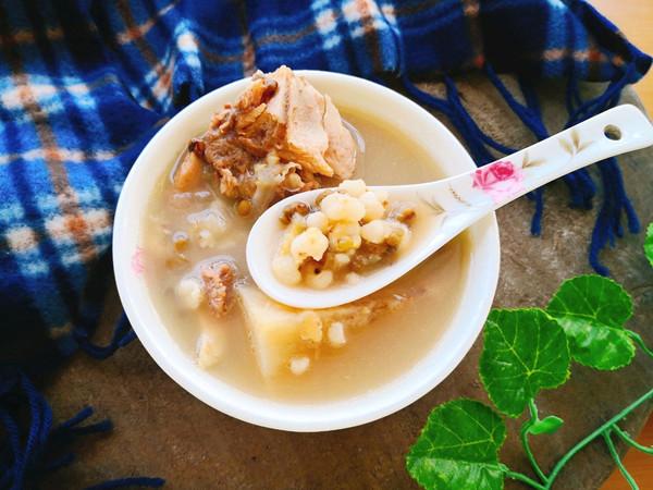 粉葛薏米绿豆祛湿汤的做法