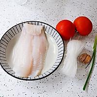 #入秋滋补正当时#龙利鱼粉丝番茄汤的做法图解1