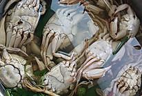 腌梭子蟹的做法