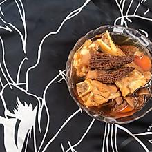 #精品菜谱挑战赛#羊肚菌姬松茸炖骨头汤