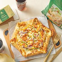 馅料超足又拉丝的新奥尔良烤鸡芝心披萨