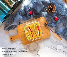 春游便当——三明治的做法