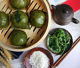 #馅儿料美食,哪种最好吃#春笋酸菜清明粿的做法
