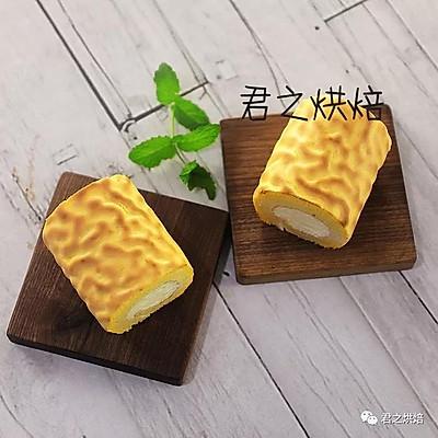 来做漂亮的虎皮蛋糕卷!