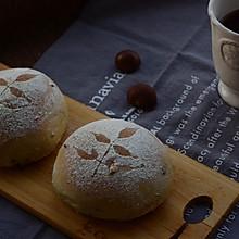 美善品之栗子牛奶圆面包
