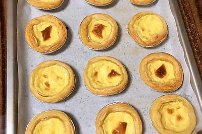 无需淡奶油的完美蛋挞液配方,不出门就能吃到香酥可口的蛋挞