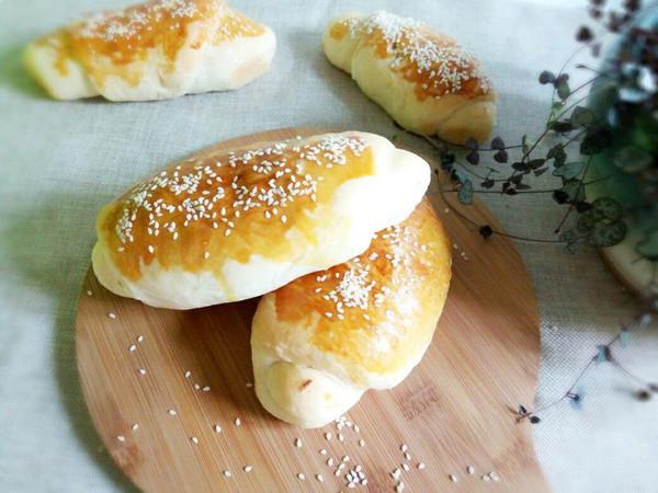 肉松芝麻面包的做法