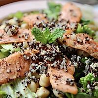 """三文鱼藜麦沙拉#在""""家""""打造ins风美食#的做法图解10"""