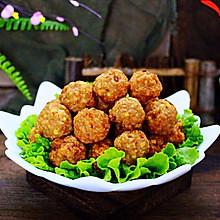 #新年开运菜,好事自然来#团团圆圆的香炸猪肉豆腐丸子