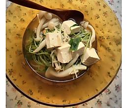 豌豆苗什锦汤的做法