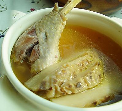 花菇鸡汤的做法